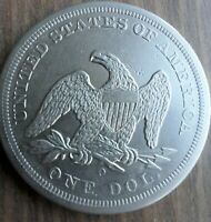 1860 O SEATED LIBERTY DOLLAR   EXTRA FINE CONDITION