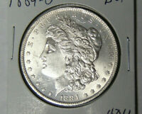 BU 1884-O MORGAN SILVER DOLLAR UNCIRCULATED PLUS NEW ORLEANS MINT COIN 5721