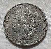 1900-P $1 MORGAN SILVER DOLLAR CIRCULATED US CURRENCY PHILADELPHIA MINT COIN 125