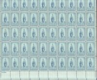 989 FREEDOM STATUE. MINT SHEET.  F VF NEVER HINGED. BCV $15