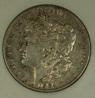 1904-S MORGAN DOLLAR. ANACS EF45. WELL PRESERVED.  DATE.