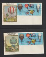 LOT OF 8     COLORANO FIRST DAY COVERS     SCOTT 2032 35