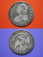 1833 CAPPED BUST LIBERTY HALF DOLLAR EXACT COIN SHOWN FLAT RATE SHIPPING OCE 09