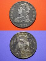 1834 CAPPED BUST LIBERTY HALF DOLLAR EXACT COIN SHOWN FLAT RATE SHIPPING OCE 15