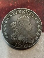 1799 $1 UNITED STATES SILVER BUST DOLLAR, 6/22/21