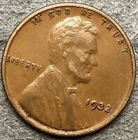 1932 P  LINCOLN WHEAT CENT - HIGHER/HIGH GRADE  FREE SHIP. H552
