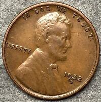 1932 D  LINCOLN WHEAT CENT PENNY - HIGH GRADE  FREE SHIP. H166