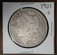1901-O $1 MORGAN SILVER DOLLAR US CURRENCY NEW ORLEANS MINT US COIN 51121A