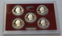 2010 S 90  SILVER ATB NATIONAL PARKS QUARTERS US MINT PROOF