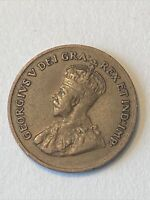 KEY DATE 1925 ANTIQUE CANADA KING GEORGE V SMALL CENT    BET
