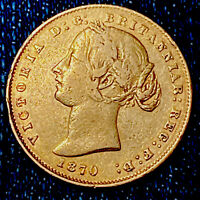 1870 QUEEN VICTORIA GOLD SOVEREIGN. LOW MINTAGE  MINTED IN S