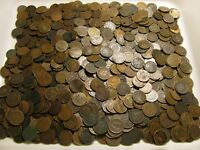 BAG OF 500  INDIAN HEAD CENTS 1859 TO 1909 FROM PENNY COLLEC