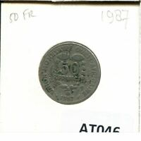 50 FRANCS CFA 1987 WESTERN AFRICAN STATES BCEAO COIN AT046.U