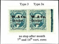 16. R13C HOR. PAIR O.G. WITH WILKINS & CO. BALTIMORE CANNING