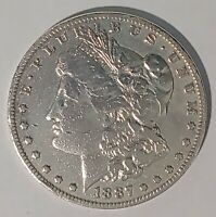1887-O $1 MORGAN SILVER DOLLAR US CURRENCY NEW ORLEANS MINT COIN 70921A
