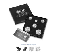 LIMITED EDITION 2021 SILVER PROOF SET AMERICAN EAGLE COLLECT