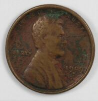 1909 S LINCOLN EARLY US WHEAT CENT 1C   KEY