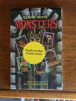 UX285 UX289 UX289A CLASSIC MOVIE MONSTERS POSTAL CARDS SET S