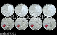 2012  2013  WAR OF 1812 25 CENT SET UNC         >>FREE $HIPPING IN CANADA <<