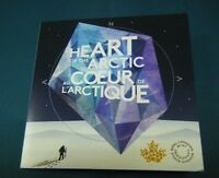 2013 CANADA ARCTIC EXPEDITION QUARTER W/ COLLECTOR CARD HOLDER UNCIRCULATED COIN