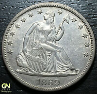 1869 P SEATED LIBERTY HALF DOLLAR  WB101     MAKE US AN OFFER!  G4212