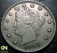 1903 LIBERTY V NICKEL      MAKE US AN OFFER!  W2121 ZXCV