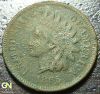 1865 INDIAN HEAD CENT      MAKE US AN OFFER!  Y2123