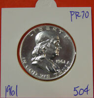 1961 FRANKLIN SILVER HALF DOLLAR  PROOF CONDITION ADD TO YOUR COLLECTION