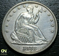 1878 SEATED LIBERTY HALF DOLLAR     MAKE US AN OFFER!  G4209