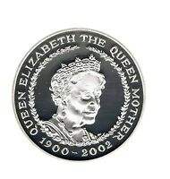 2002 5 ROYAL MINT CROWN QUEEN MOTHER MEMORIAL 1900/2002 POUND COIN UNCIRCULATED