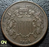 1864 2 CENT PIECE  --  MAKE US AN OFFER  Y2359