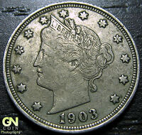 1903 LIBERTY V NICKEL  --  MAKE US AN OFFER  W2120 ZXCV