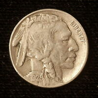 1929 S BUFFALO NICKEL USA 5 CENT COLLECTABLE COIN M780