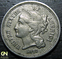 1873 3 CENT NICKEL PIECE      MAKE US AN OFFER  O2409