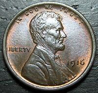 1916 P LINCOLN CENT      MAKE US AN OFFER  R1633