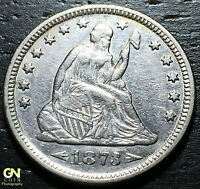 1873 ARROWS SEATED LIBERTY QUARTER      MAKE US AN OFFER  G4234