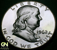 1962 PROOF FRANKLIN HALF DOLLAR      MAKE US AN OFFER  Y4973