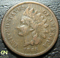 1865 INDIAN HEAD CENT  --  MAKE US AN OFFER  W2437 ZXCV