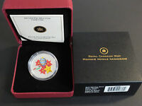 2013 CANADA PROOF $20 MURANO VENETIAN GLASS   HOLIDAY CANDY CANE