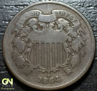 1864 2 TWO CENT PIECE  --  MAKE US AN OFFER  Y2285