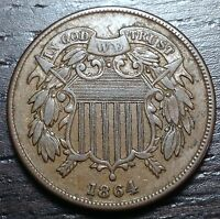 1864 2 CENT PIECE  --  MAKE US AN OFFER  Y1504