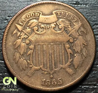 1865 2 CENT PIECE  --  MAKE US AN OFFER  Y3383