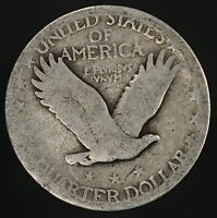 1927-P STANDING LIBERTY QUARTER 90 SILVER COIN 4314