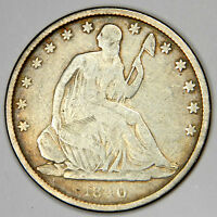1840 O SEATED HALF DOLLAR   NICE FINE PRICED FOR QUICK SALE