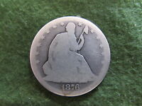 1876 CC SEATED LIBERTY SILVER HALF DOLLAR CARSON CITY HALF 50C FIFTY CENTS