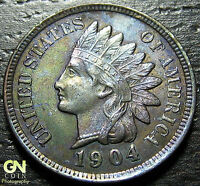 1904 INDIAN HEAD CENT      MAKE US AN OFFER  W1784 ZXCV