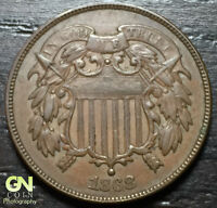 1868 2 CENT PIECE      MAKE US AN OFFER  Y3388