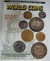 KRAUSE STANDARD CATALOG OF WORLD COINS 17TH CENTURY 2ND EDITION 1601 1700