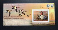 RW81A 2014   2015   US FEDERAL DUCK STAMP   POST OFFICE FRESH