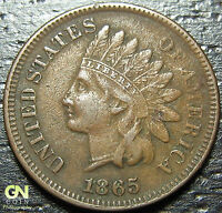 1865 INDIAN HEAD CENT  --  MAKE US AN OFFER  Y2973